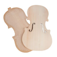 Handmade Violin Spruce Top Panel & Maple Back Set for Violinist Luthier
