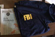 FBI t-shirt Unisex Gildan Mens t-shirt XL XXL Quantico Virginia Law CIA NASA DEA