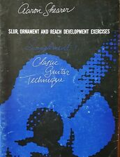 VTG Aaron Shearer Slur Ornament & Reach Development Exercise Lesson Book Guitar