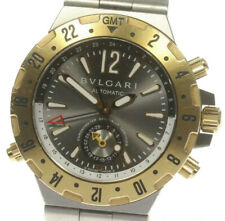 BVLGARI Diagono GMT40SG SS/YG Automatic Men's Watch_478790