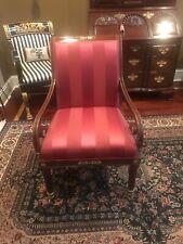Kindel Neoclassical Empire Regency Arm Chair