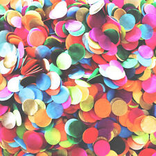 1000Pcs Mix-color Tissue Paper Confetti Round Pastel Wedding Balloon Throw Decor