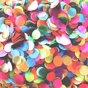1000Pcs Mix-color Tissue Paper Confetti Round Pastel Wedding Balloon Throw Decor