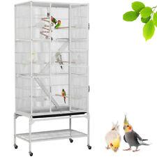 Volière Cage à Oiseaux Canaries Perruches Perroquets Cage pour Lapin Canard