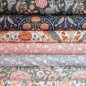 William Morris Orkney Collection Fabric 110cm wide, per 50cm