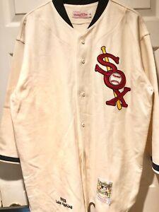 Mitchell & Ness 1933 Luke Appling White Sox Jersey Wool Flannel 52 XXL