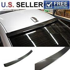 2006-2011 BMW E90 3 Series 4 Dr Sedan Carbon Fiber Roof Spoiler Lip 328i 335i M3