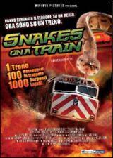 SNAKES ON A TRAIN - DVD SIGILLATO PAL - MALLACHI BROTHERS - JULIA RUIZ