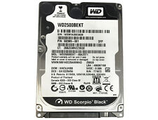 "WD Black WD2500BEKT 250GB 7200RPM SATA 3Gb/s 2.5"" Internal Notebook Hard Drive"