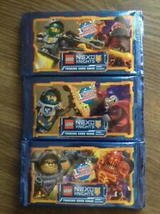Lego Nexo Knights Cards GERMAN 3 sealed packs boosters