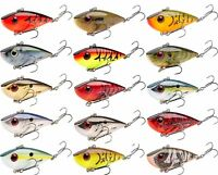 Strike King Red Eye Shad Tungsten 2 Tap 1/2 oz. Lipless Crankbait Fishing Lure