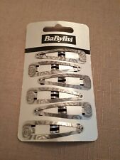 Babyliss Vintage Grey Rose Hair Clips Pin Clips Slides Grips Wedding