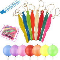 Large Punch Balloons 12 Inch Multicolor with Latex Rubber for All Occasion Decor