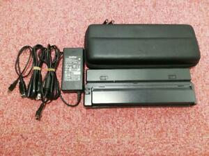 Brother PocketJet PJ-663 Small Mobile Thermal Printer with case USED