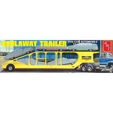 AMT 1 25 5-Car Haulaway Trailer