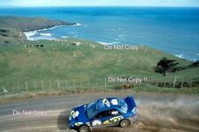 Kenneth Eriksson Subaru Impreza WRC 97 New Zealand Rally 1997 Photograph 2