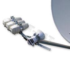 Multi-Set 4xLNB TWIN+DiSEqC 4/1+Multifeed+Spiegel 100cm