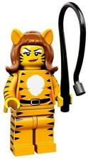 Lego Minifigure Series 14- Tiger Woman Lady - 71010 Brand New Sealed Animal Suit