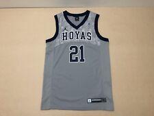 Jordan Brand Jersey Mens ~ Size Small ~ Georgetown Hoyas # 21 Basketball Team