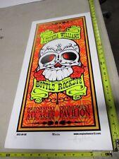 2004 Rock Roll Concert Poster Lucinda Williams Mike Martin S/N LE Skull Rose