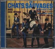 CD 12 TITRES LES CHATS SAUVAGES AVEC DICK RIVERS TWIST A SAINT TROPEZ..2018 NEUF