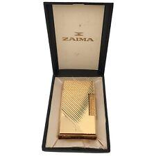 Zaima Saphir Feuerzeug Gasfeuerzeug