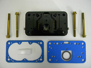 Holley QFT AED CCS E85 Billet Metering Block Complete Sold as Each (1)