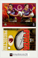 2005 Select NRL Power Predictor Card + Playmaker PM1 K. Hunt/ B. Seymour