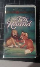 Disney Gold Classic collection The Fox and The hound VHS Movie