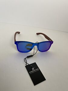 KINGSEVEN Polarized Sunglasses EASY CHRISTMAS GIFT With Wooden Frame