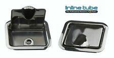 1964-67 GM Pontiac Olds Chevy Buick A-Body Hardtop Rear Arm Rest Ashtray Chrome