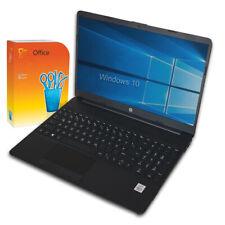 HP Notebook 15 Zoll i3 (10.gen) - 16GB - 1TB SSD -Win10 -Office - Full HD Laptop