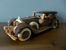 Rolls Royce 1934 High quality wooden toy car model vintage style handmade