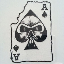 Ace of Spades Playing Card Temporary Tattoo Body Art
