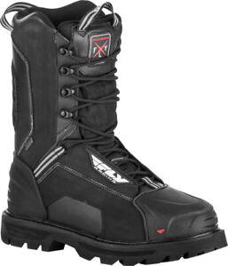 Fly Racing Boulder Boots (SZ 10, Black)