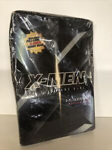 WOTC Theme Deck + Booster Pack - X-Men Trading Card Game TCG SEALED 2000 + Comic