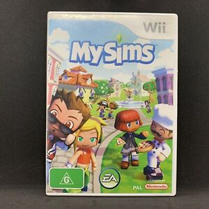 MySims (Nintendo Wii) Complete with Manual | FREE TRACKED POST My Sims Game