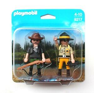 Playmobil Duo Pack 9217 Afrika Safari Ranger und Wilddieb Wilderer  NEU & OVP