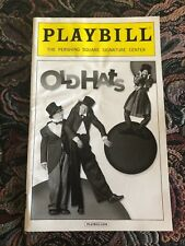 Old Hats March 2016 Broadway Playbill