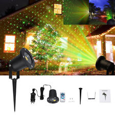 Auto Moving Outdoor LED Laser Projector Landscape Light Garden Xmas Party Lamp