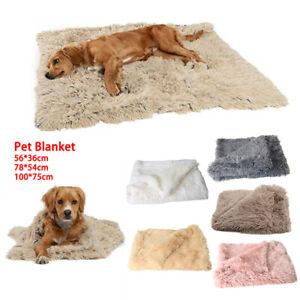 Weiche Mattendecke Kuschelige warme Haustier Hund Katze Tierdecke Wurfmatte DE