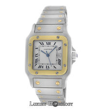 Mint Men's Unisex Cartier Santos Galbee 1172961 Automatic 18K Gold 29MM Watch