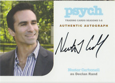 Nestor Carbonell 2015 Cryptozoic Psych autograph auto card NC