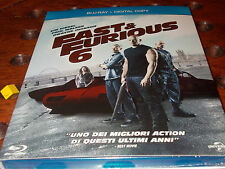 fast & furious 6 and digital Copy  Blu-Ray ..... Nuovo