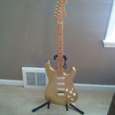 2004 Fender 50th Anniversary MIM Standard Stratocaster Gold w/Gig Bag