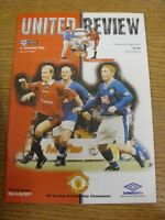 30/08/1997 Manchester United v Coventry City  . Thanks for viewing our item, if