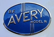B F Avery Tractor Grill Medallion Model R With Mounting Bolts 3 12 X 2 12