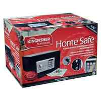 DIGITAL HOME SAFE HIGH SECURITY SECURE ELECTRONIC STEEL PERSONAL MONEY CASH BOX