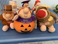 Ziggy Plush Dolls Lot Of 6 Collectible Vintage Characters