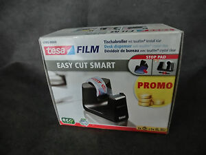 tesa EASY CUT SMART Tisch- Klebeband- Tesaabroller Nr. 53903 + 1 Rolle Film (WS)